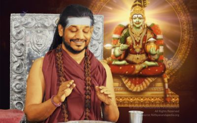 The Supreme Pontiff of ShriKailasa concludes the Hindu Religious Fast with the Maheshwara Puja